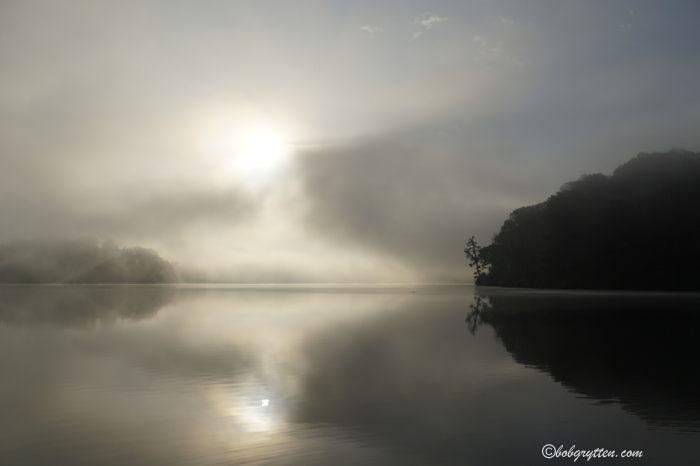 lake Junalusla morning April, 2016